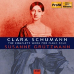 Schumann, C: Complete Works for Solo Piano (4CD)