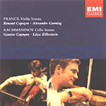 Franck: Violin Sonata; Rachmaninov: Cello Sonata (CD)