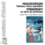 Mussorgsky: Pictures; Stravinsky: Rite of Spring (Two Pianos) (CD)