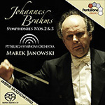 Brahms: Symphonies Nos 2 and 3 [SACD] (CD)