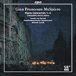 Malipiero: The Complete Piano Concertos (2SACD)
