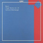 Bach: The Complete Organ Works, Vol 20 (CD)