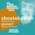Produktbilde for Shostakovich: Symphony No 10; Glanert: Theatrum bestiarum [SACD] (UK-import) (CD)