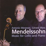 Mendelssohn: Works for Cello and Piano (CD)