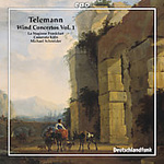 Telemann: Wind Concertos, Vol 1 (CD)