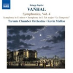 Vanhal: Symphonies Vol 4 (CD)