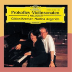 Prokofiev: Violin Sonatas; 5 Melodies (CD)