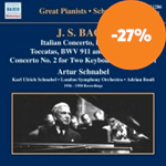 Schnabel Plays Bach (CD)
