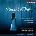 D'Indy: Orchestral Works, Vol 1 (CD)