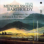 Mendelssohn: Orchestral Works arranged for Violin, Cello & Piano 4 Hands (CD)