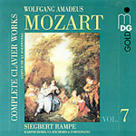 Mozart: Complete Keyboard Works, Vol 7 (CD)