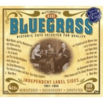 Rare Bluegrass: Independent Label Sides 1951-1954 (4CD)