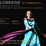Lorraine Hunt Lieberson at Emmanuel (CD)