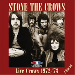 Live Crows 1972/73 (m/DVD) (CD)