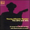 The Young Alberta Hunter: The 20's & 30's (CD)