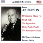 Anderson: Orchestral Works, Vol 3 (CD)