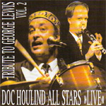 "Doc Houlind All Stars - ""Live"" Tribute To George Lewis Vol 2 (CD)"