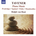 Tavener: Piano Works (CD)