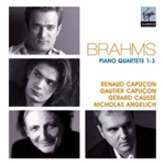 Brahms: Piano Quartets Nos 1 - 3 (2CD)