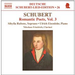 Schubert: Romantic Poets, Vol 3 (CD)