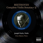 Beethoven: Complete Violin Sonatas, Vol 2 (CD)
