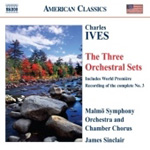 Ives: Three Orchestral Sets (CD)