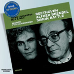Beethoven: Piano Concertos Nos 4 & 5 (CD)