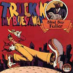 Produktbilde for Truckin' My Blues Away (CD)