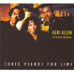 Three Pianos For Jimi (CD)