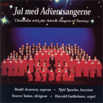 Produktbilde for Jul Med Adventsangerne (CD)