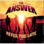 Never Too Late EP (m/DVD) (CD)