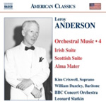 Anderson: Orchestral Music, Vol 4 (CD)