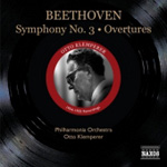 Beethoven: Symphony No 3; Overtures (CD)
