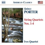 Porter, Q: String Quartets Nos 1-4 (CD)