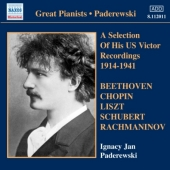 Paderewski - (A) Selection of His US Victor Recordings 1914-1941 (CD)