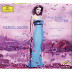 Anne-Sophie Mutter - Mendelssohn (Digipack m/DVD)