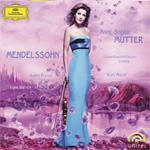 Anne-Sophie Mutter - Mendelssohn (m/DVD) (CD)