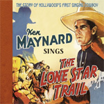 Sings The Lone Star Trail (CD)