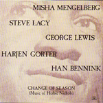 Change Of Season (CD)