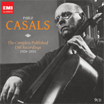 Pablo Casals - The Complete Published EMI Recordings 1926-1955 (9CD)