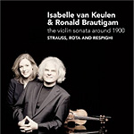 Produktbilde for Respighi; Rota; Strauss, R: Violin Sonatas (CD)
