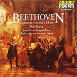 Beethoven: Complete Chamber Music For Flute (CD)