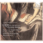 Handel: Ode For The Birthday Of Queen Anne (CD)