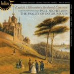 English 18th Century Keyboard Concertos (CD)