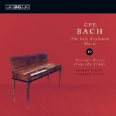 Bach, C.P.E.: Keyboard Music Vol. 19 (CD)