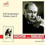 Produktbilde for Richter Plays Debussy (CD)