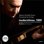 Graun: String Concertos (CD)