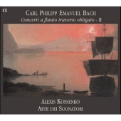 Bach, CPE: Flauto Traverso Concertos Vol 2 (CD)