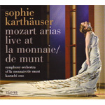 Produktbilde for Sophie Karthäuser - Mozart Arias Live At De Munt (CD)