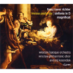 Richter: Messa Pastorale, Sinfonia In D & Magnificat (CD)
